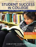 Student Success in College Doing What Works! 2nd 2016 edition cover