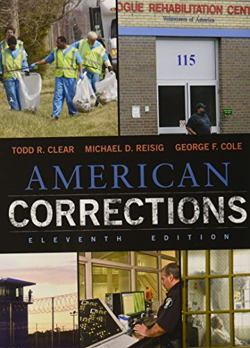 American Corrections + Lms Integrated for Mindtap Criminal Justice, 1-term Access:   2015 9781305626171 Front Cover