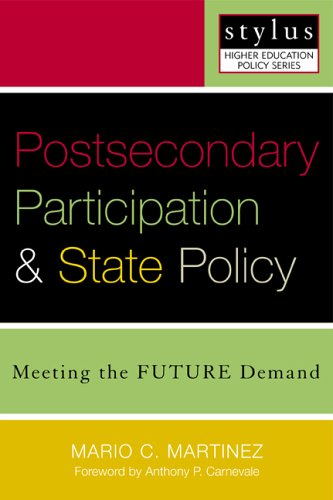 Postsecondary Participation and State Policy Meeting the Future Demand  2004 edition cover