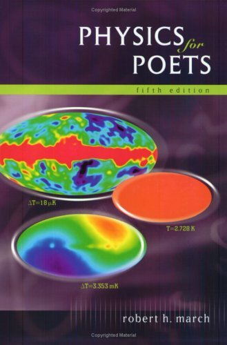 Physics for Poets  5th 2003 (Revised) edition cover