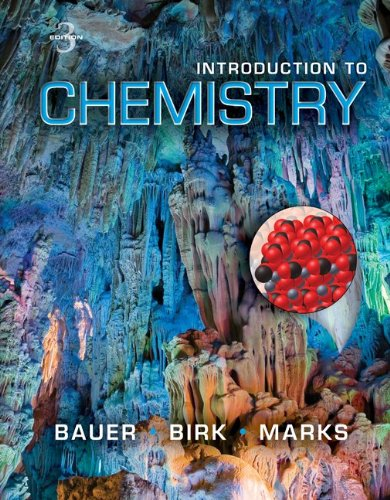 Student's Solutions Manual for Introduction to Chemistry  3rd 2013 edition cover