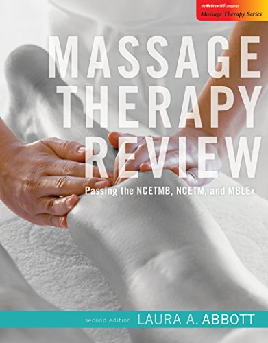Massage Therapy Passcode Card:  2009 edition cover