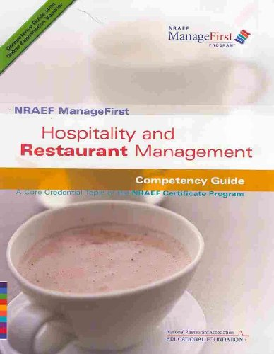 ManageFirst Hospitality and Restaurant Management with on-Line Testing Access Code Card and Test Prep   2007 9780135072172 Front Cover