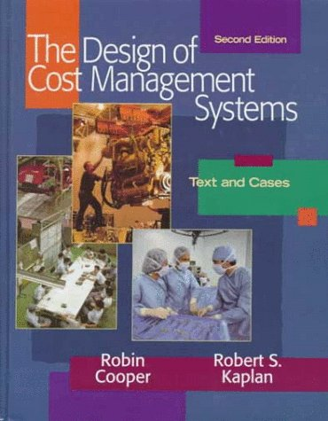 Design of Cost Management Systems  2nd 1999 edition cover