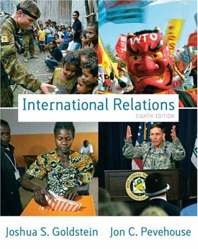 International Relations, 2008-2009  8th 2008 edition cover