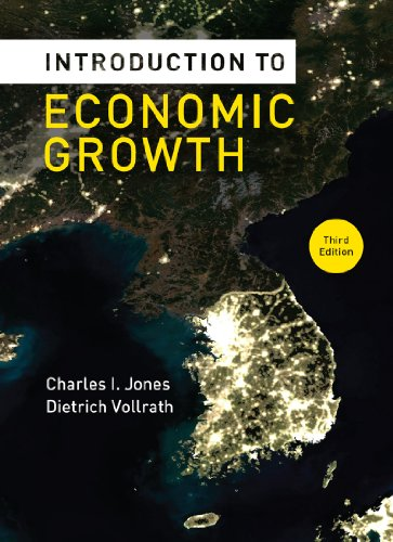 Introduction to Economic Growth  3rd edition cover
