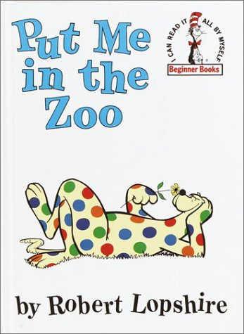 Put Me in the Zoo   1960 edition cover