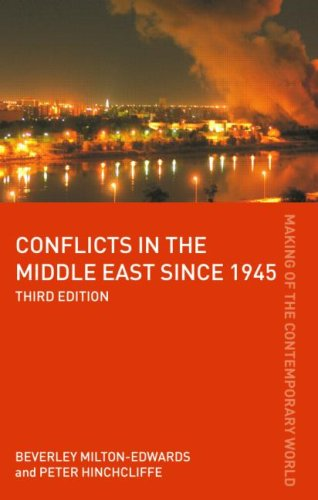 Conflicts in the Middle East since 1945  3rd 2008 (Revised) edition cover