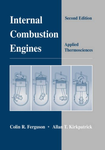 Internal Combustion Engines Applied Thermosciences 2nd 2001 (Revised) edition cover
