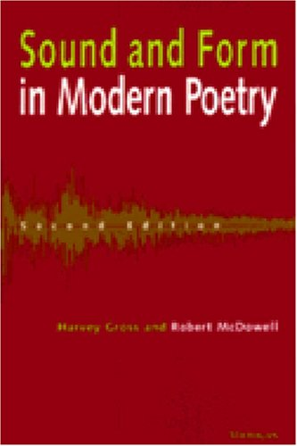 Sound and Form in Modern Poetry  2nd 1996 edition cover