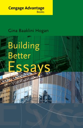 Building Better Essays   2013 edition cover