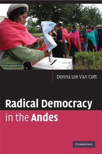 Radical Democracy in the Andes   2009 9780521734172 Front Cover