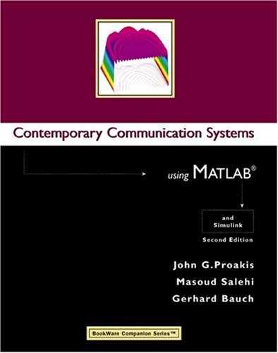 Contemporary Communication Systems Using MATLAB  2nd 2004 (Revised) edition cover