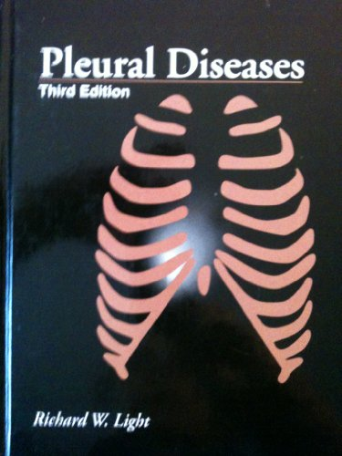 Pleural Diseases  3rd 1995 (Revised) 9780683050172 Front Cover