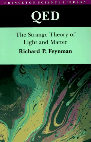 QED The Strange Theory of Light and Matter  1988 edition cover