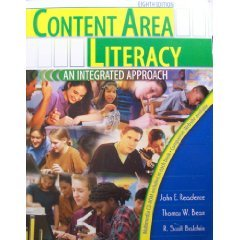 Content Area Literacy An Integrated Approach 8th 2004 (Revised) edition cover