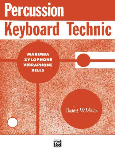 Percussion Keyboard Technic   1985 edition cover