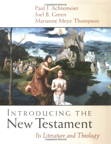 Introducing the New Testament Its Literature and Theology  2001 edition cover
