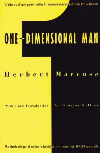 One-Dimensional Man Studies in the Ideology of Advanced Industrial Society  1991 edition cover