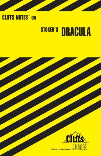 Stoker's Dracula   1983 edition cover