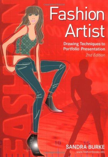 Fashion Artist Drawing Techniques to Portfolio Presentation 2nd 2006 edition cover