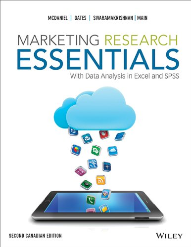 Marketing Research Essentials, Second Canadian Edition  2nd 2013 9781118043172 Front Cover