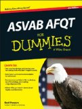 ASVAB AFQT for Dummies  2nd 2014 edition cover
