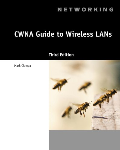 CWNA Guide to Wireless LANs  3rd 2013 edition cover