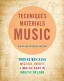 Techniques and Materials of Music  7th 2015 edition cover