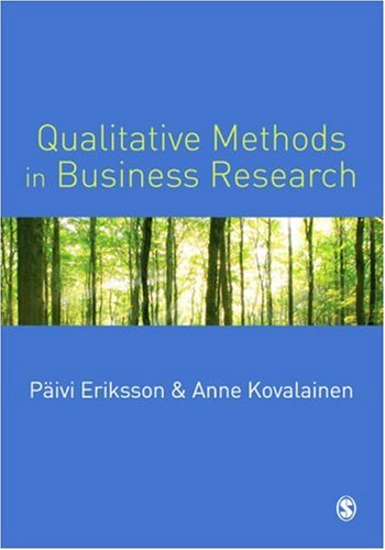 Qualitative Methods in Business Research   2008 edition cover
