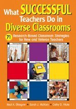 What Successful Teachers Do in Diverse Classrooms 71 Research-Based Classroom Strategies for New and Veteran Teachers  2006 edition cover
