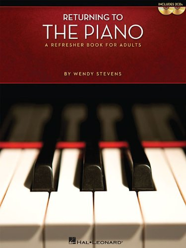 Returning to the Piano A Refresher Book for Adults N/A edition cover