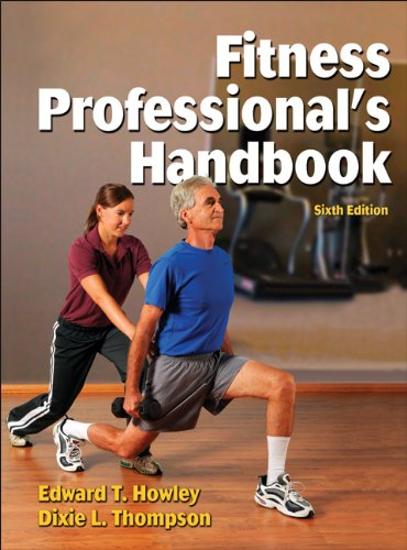Fitness Professional's Handbook-6th Edition  6th 2012 edition cover