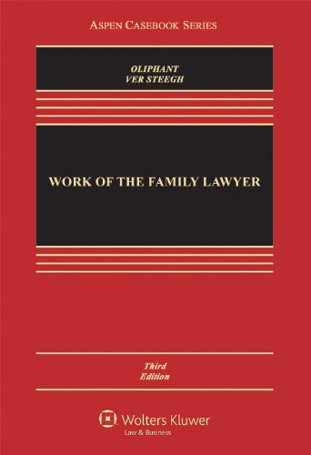Work of the Family Lawyer  3rd 2012 (Revised) edition cover