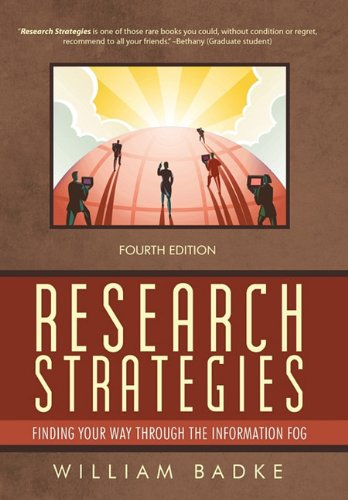 Research Strategies Finding Your Way through the Information Fog 4th 2011 edition cover