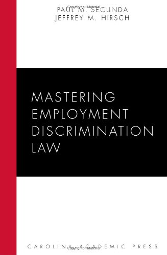 Mastering Employment Discrimination Law   2010 edition cover
