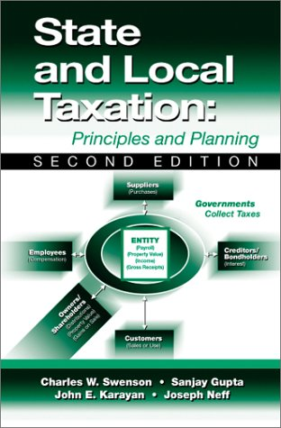State and Local Taxation Principles and Planning 2nd 2003 9781932159172 Front Cover