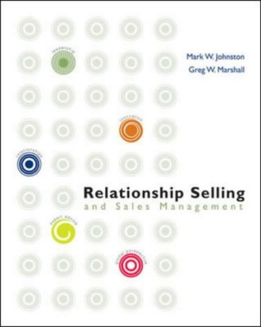 Relationship Selling and Sales Management 1st 2004 edition cover