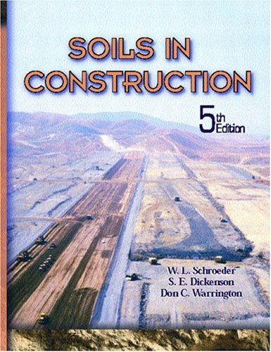 Soils in Construction  5th 2004 edition cover