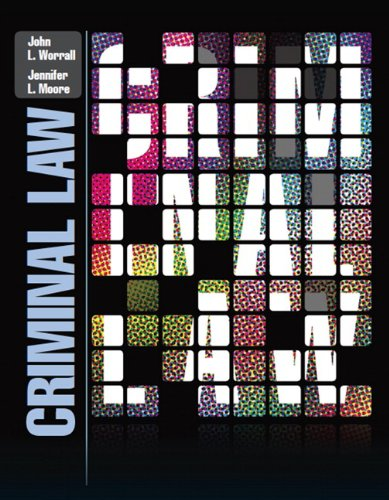 Criminal Law   2013 edition cover