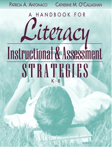 Handbook for Literacy Instructional and Assessment Strategies, K-8  2006 edition cover
