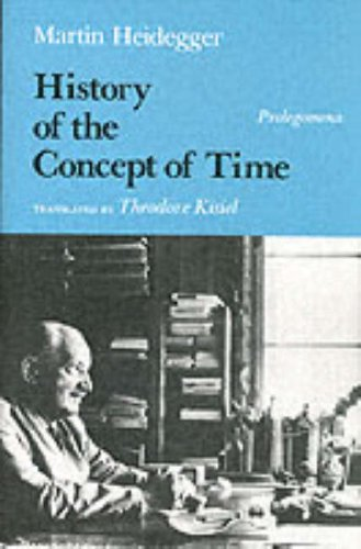 History of the Concept of Time Prolegomena Reprint  9780253207173 Front Cover