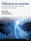 Principles of Auditing An Introduction to International Standards on Auditing 3rd 2014 (Revised) edition cover