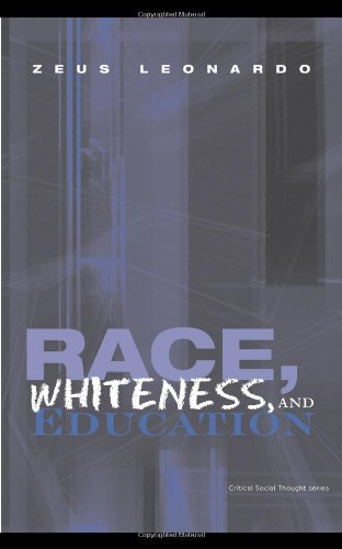 Race, Whiteness, and Education   2009 edition cover