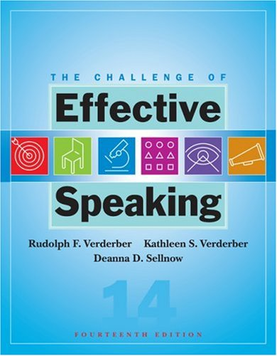 Challenge of Effective Speaking  14th 2008 edition cover
