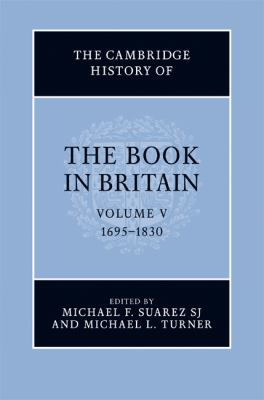 Cambridge History of the Book in Britain   2009 9780521810173 Front Cover