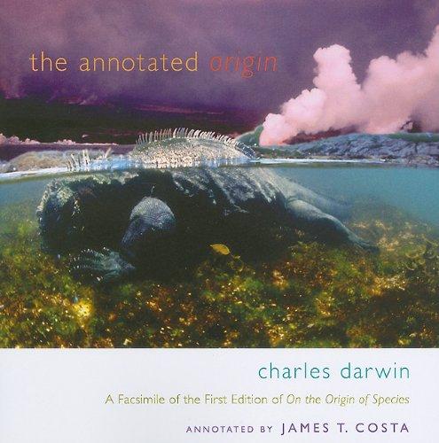 Annotated Origin   2009 (Facsimile) edition cover