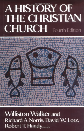 History of the Christian Church  4th 1985 edition cover
