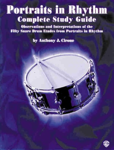 Portraits in Rhythm Complete Study Guide  2000 edition cover