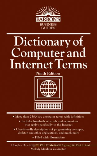 Dictionary of Computer and Internet Terms  9th 2006 edition cover